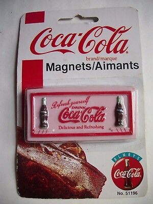 Vintage 1998 Coca-Cola Coke Magnet Refresh Yourself New in Package