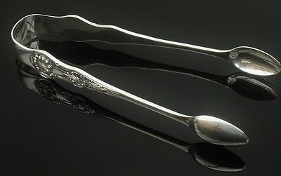 Silver Sugar Tongs, Sheffield 1878, Harrison Brothers & Howson