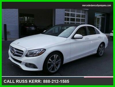 2015 Mercedes-Benz C-Class C 300 2015 C 300 Used Certified Turbo 2L I4 16V Automatic Rear Wheel Drive Sedan