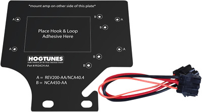 Hogtunes Amp Adapter Mount Kit For 1998-2013 Harley Davidson Road Glide Rg4Ch-Aa