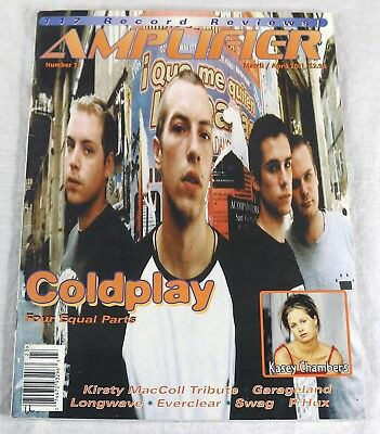 Amplifier Music Magazine March 2001 Coldplay Kasey Chambers Everclear OOP New