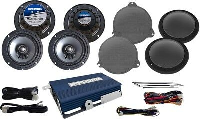 Hogtunes Amplifier And 4 Speakers 2014-2017 Harley Electra Glides Nca450Ukit-Rm