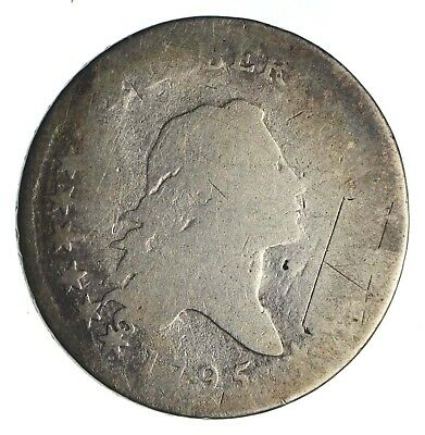 1795 Flowing Hair Half Dollar - Circulated *1258
