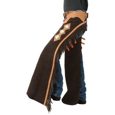 Tough-1 Suede Leather Cutting/Show Chaps