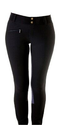 Devon-Aire Ladies Full Seat All Pro Lo-Rise Show Riding Breeches Ribbed Fabric