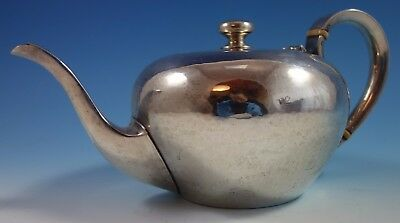 Round by Porter Blanchard Sterling Silver Handmade Tea Pot  (#1663)