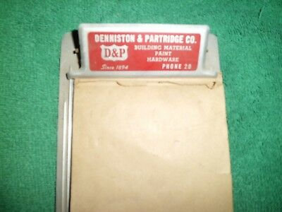 Vintage Newton Iowa D & P Denniston & Partridge Co. Lumber - Building Materials