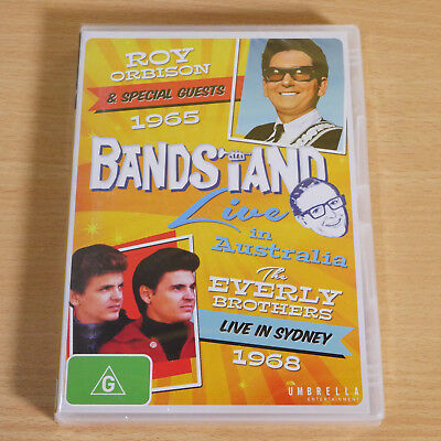 BANDSTAND Roy Orbison & The Everly Brothers LIVE IN SYDNEY 1968. DVD.New-Sealed.