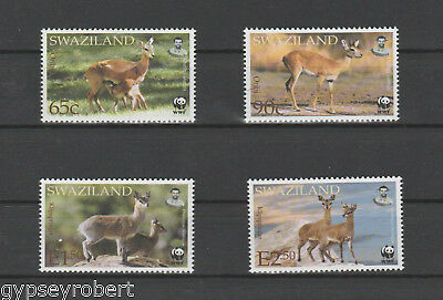 SWAZILAND   WWF  2001 Endangered Species. Antelopes