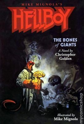 Hellboy The Bones of Giants SC (2001 Illustrated Novel) #1-1ST VF