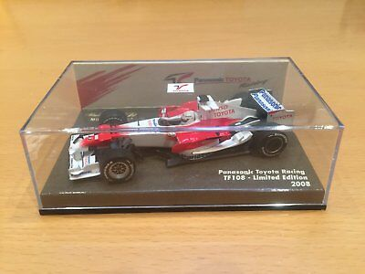 Toyota F1 Racing TF108 (1:43) model.  Perfect Condition. Malvern East