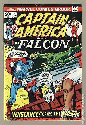 Captain America (1968 1st Series) #157 FN 6.0