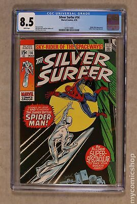 Silver Surfer (1968 1st Series) #14 CGC 8.5 1473114001