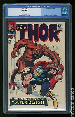 Thor (1962-1996 1st Series Journey Into Mystery) #135 CGC 9.2 0004207019