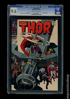 Thor (1962-1996 1st Series Journey Into Mystery) #156 CGC 9.6 0129421006
