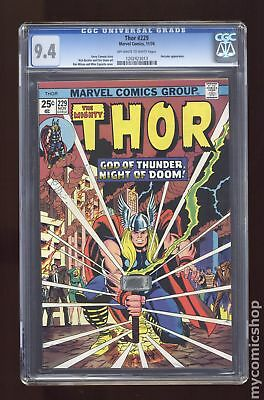Thor (1962-1996 1st Series Journey Into Mystery) #229 CGC 9.4 1202423013