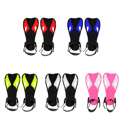 Junior Kids Children Scuba Diving Swimming Traning Aid Fins Flippers Open Heel