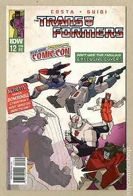 Transformers (2009 IDW) #12RE.NYCC FN+ 6.5