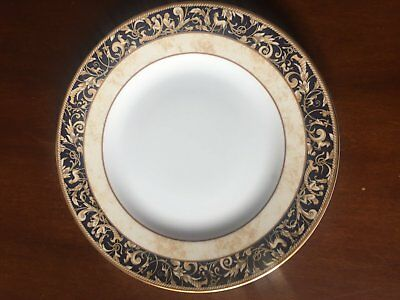 Wedgwood Cornucopia Accent Blue 20cm Entre Plate (As New) - Made in England