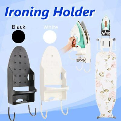 Hotel Home Laundry Iron Board Hook Holder Wall Mount Electric Ironing Board Hook