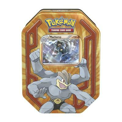Pokemon Trading Card Game Tin - Machamp Tin - Pokemon Cards (Aus)