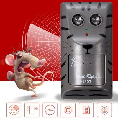Ultrasonic Repellent Device Rodent Mice Repeller Plug Pest Control Mouse Trap