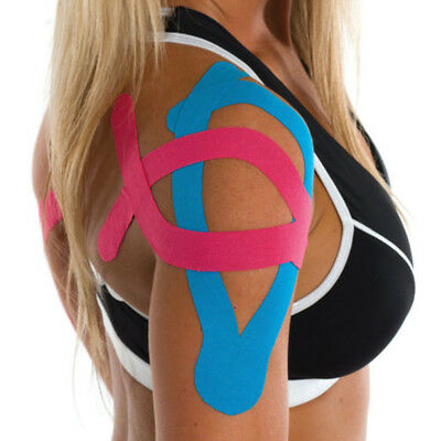 Sports Kinesiology Tape Elastic Physio Muscle Tape PRO Pain Relief Multi-Colo UK