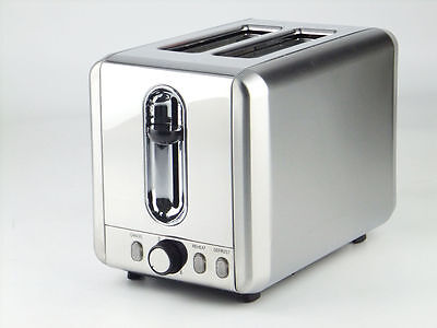 New Toaster 2 slice wide slot for bagles and defrost Automatic, 925 W La cucina