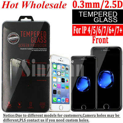 "20X Wholesale Lot Tempered Glass Screen Protector for Apple iPhone 6 / 6S (4.7"")"