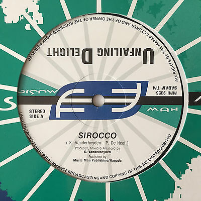 Unfailing Delight – Sirocco (Music Man Records) 1992