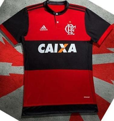 Camiseta home Club Regatas Flamengo, 2017-2018 talla L
