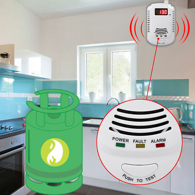 Coalgas Natural Gas Methane Propane Leak Detector Alarm Measurer for Home Safe
