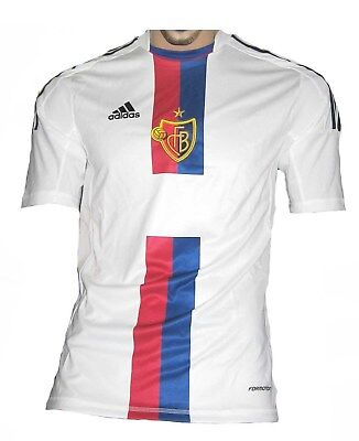 FC Basel Trikot Away Player Issue 2013/14 Adidas Maillot Maglia S M L XL XXL