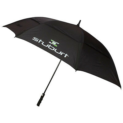 "2018 Stuburt 66"" Dual Canopy Automatic Golf Umbrella New Fit Powakaddy Motocaddy"