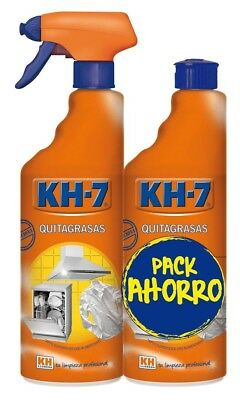 KH-7 Limpiador Quitagrasas Spray 750ml + Recambio 750ml