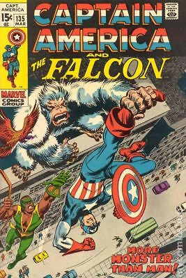 Captain America (1968 1st Series) #135 VG 4.0