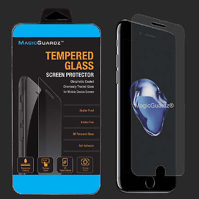 2Pack Premium Real Tempered Glass Screen Protector for Apple iPhone 8 Plus