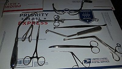 1800S To Early 1900S Antique Vintage Surgical Instruments