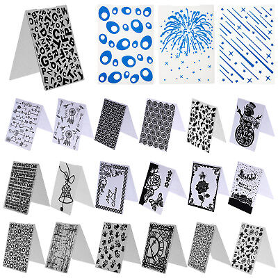 Plastic Embossing Folder Template For Scrapbooking Card Paper Album DIY Craft