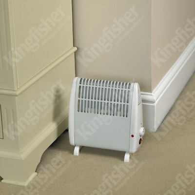 450W White Convection Convector Heater Thermostat Wall Mounted Free Standing