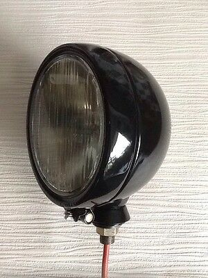Rare Lucas Deep Dish Headlight for Nuffield Tractors & Series 1 Land Rovers.