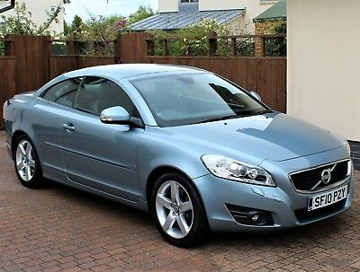 Volvo C70 Se Lux Coupe/convertible, Celestial Blue Metallic, Leather, Stunning.