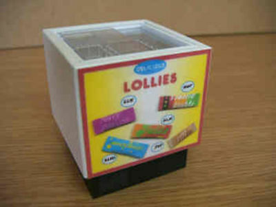 Dolls House Miniature Ice Lolly Freezer 1/12Th Scale