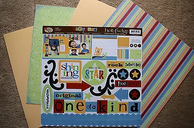 TLC 12x12 One of a Kind Scrapbook Kit Family Friends Son Daughter Unique