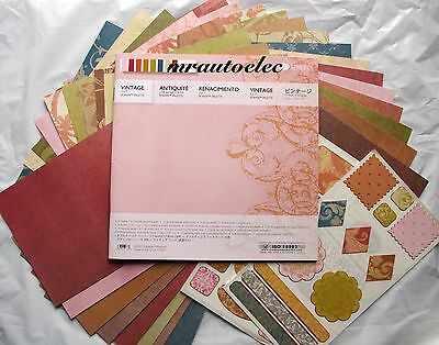 Creative Memories Vintage 7x7 Power Palette Kit