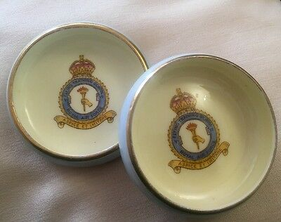 Rare Vintage Paragon Pin Dishes X 2 - RAF - 1932/8 - Unboxed - Fine China