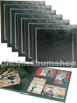 6 x UR1 NCL Economy Self-Adhesive Photo Albums Black 62774 * SIX PACK