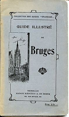 GUIDE ILLUSTRE DE BRUGES - Belgique