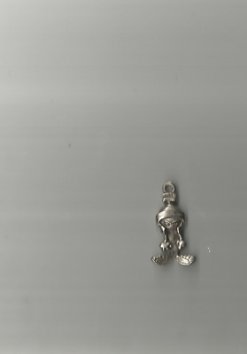 Marvin The Martian  Pewter Looney Tunes Charm  Angry Full Body