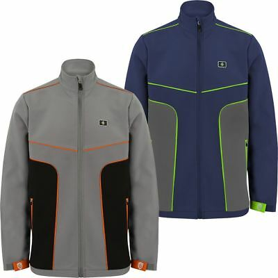42% Off Rrp Island Green Golf Mens Softshell Full Zip Breathable Thermal Jacket